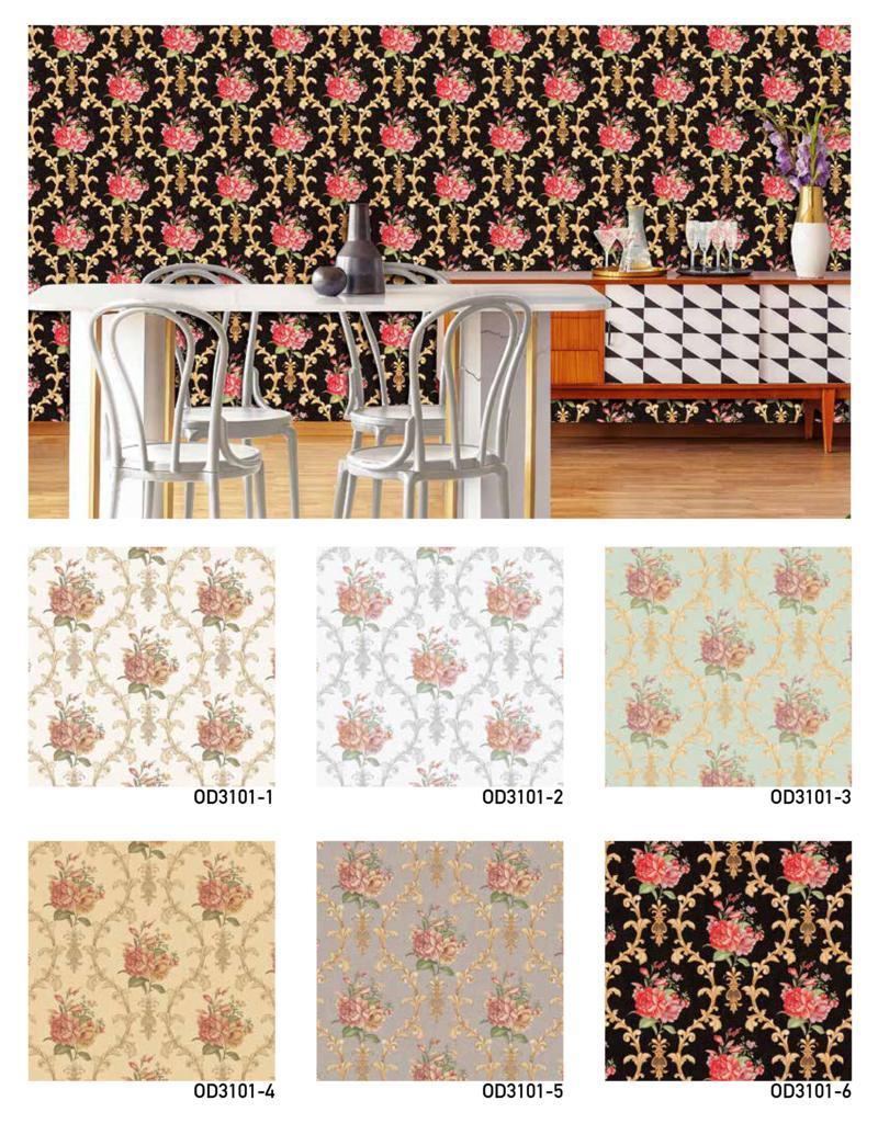 cara pasang wallpaper dinding shabby
