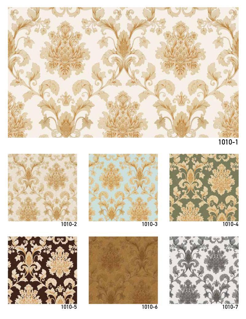 wallpaper 3d dinding batik mewah