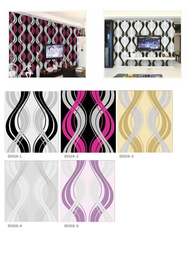 jual wallpaper ruang tv terbaru