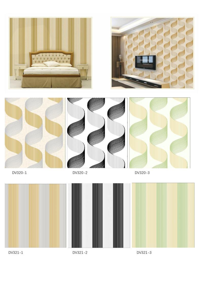 wallpaper 3d ruang tv