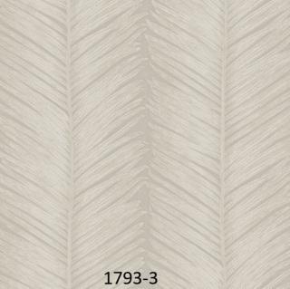 Wallpaper dinding polos warna abu abu 3d daun