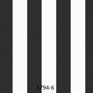 wallpaper dinding kamar tidur garis hitam putih
