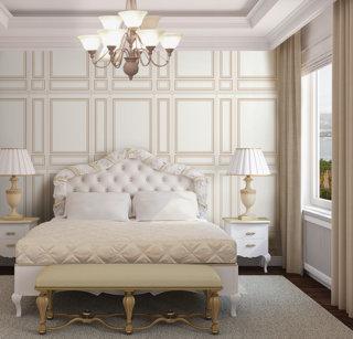 wallpaper dinding ruang kamar mewah