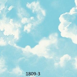 wallpaper motif awan untuk plafon 3d