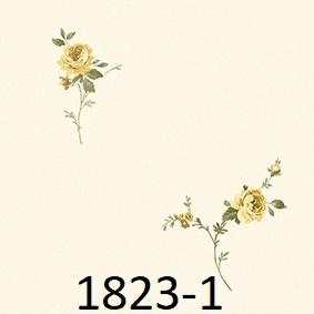 wallpaper dinding kamar tidur motif mawar