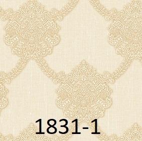 wallpaper dinding batik mewah