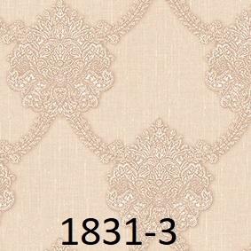 wallpaper dinding batik mewah emas