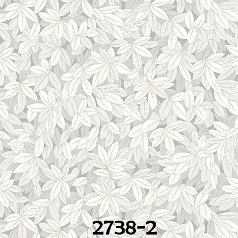 Wallpaper dinding bunga warna abu abu