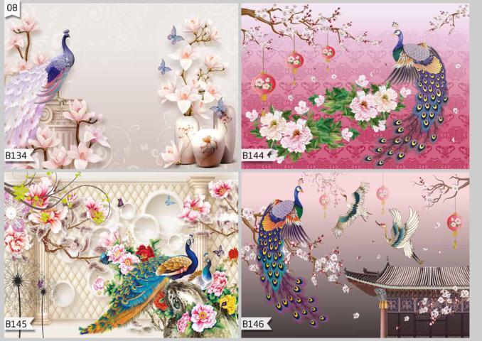 custom 3d wallpaper for wall