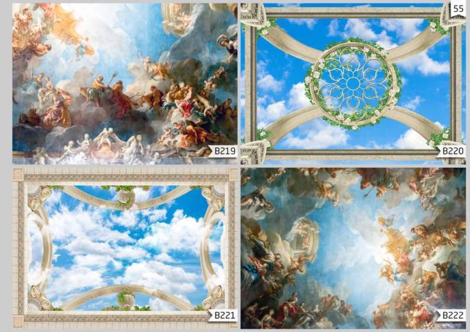 harga wallpaper custom plafon terbaru