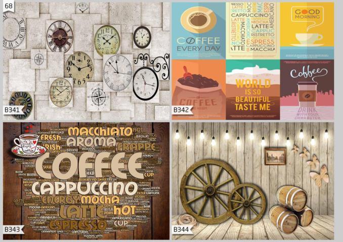 jual wallpaper dinding untuk café