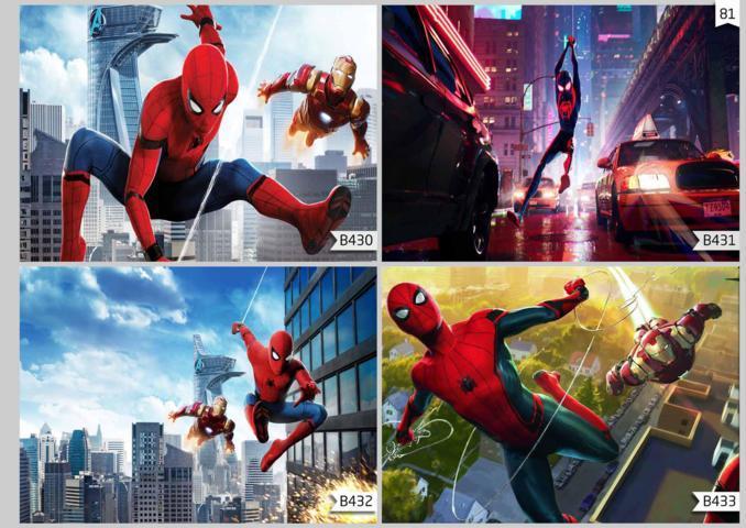 wallpaper custom 3d spiderman