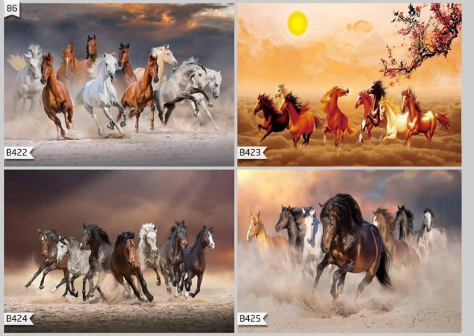 jual wallpaper custom 3d motif kuda