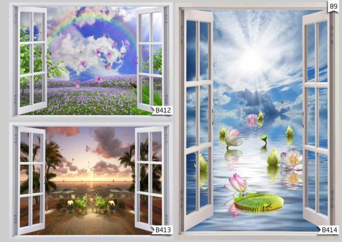 dekorasi wallpaper ruang tamu