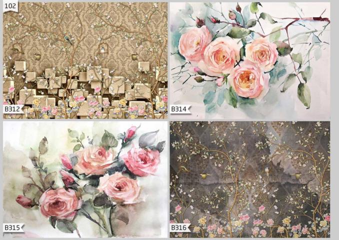 harga wallpaper dinding motif pemandangan alam