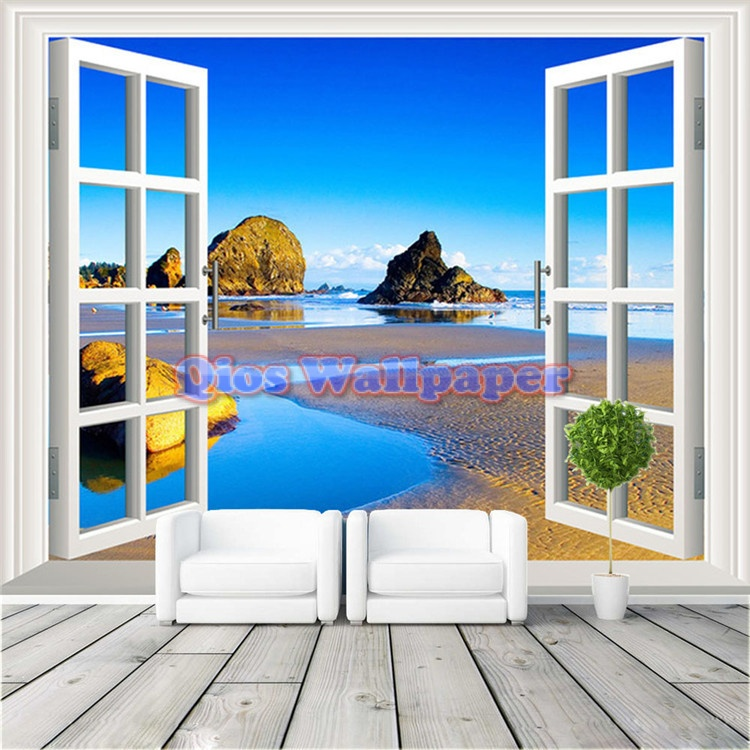 3d-window-view-photo-wallpaper-natural-scenery-wall-mural-custom-large-size-silk-art-font-b