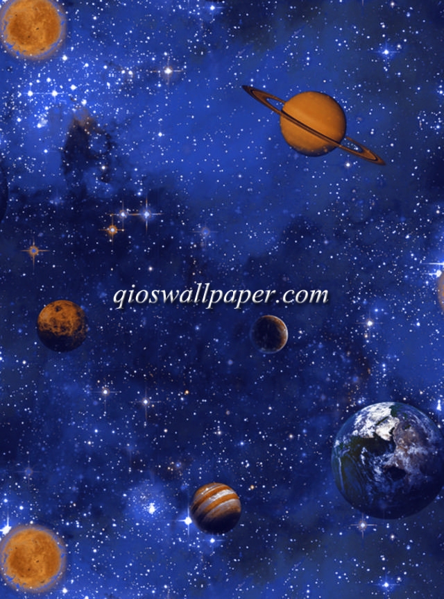 wallpaper karakter anak planet angkasa