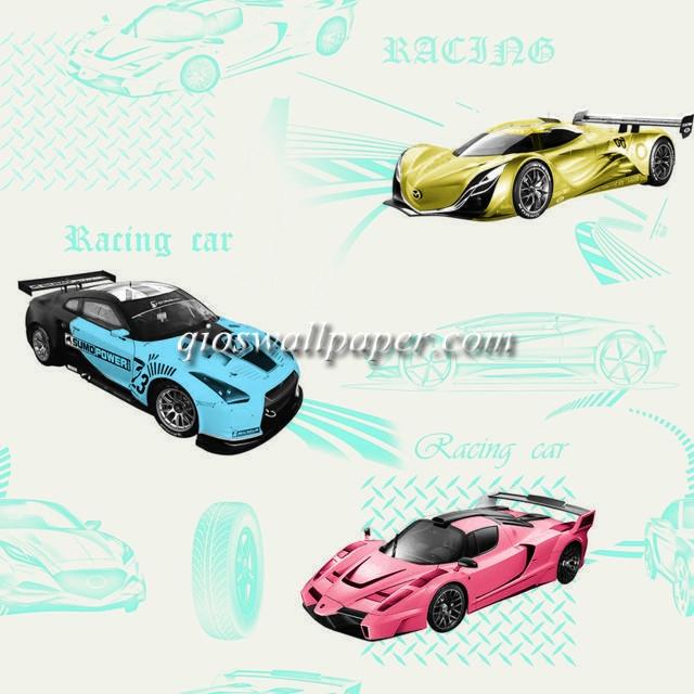 wallpaper karakter anak cars