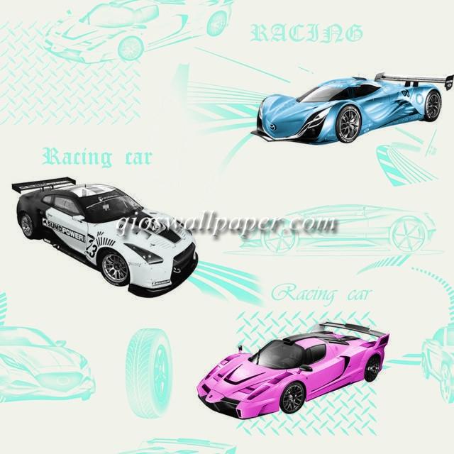 wallpaper kamar anak karakter anak cars