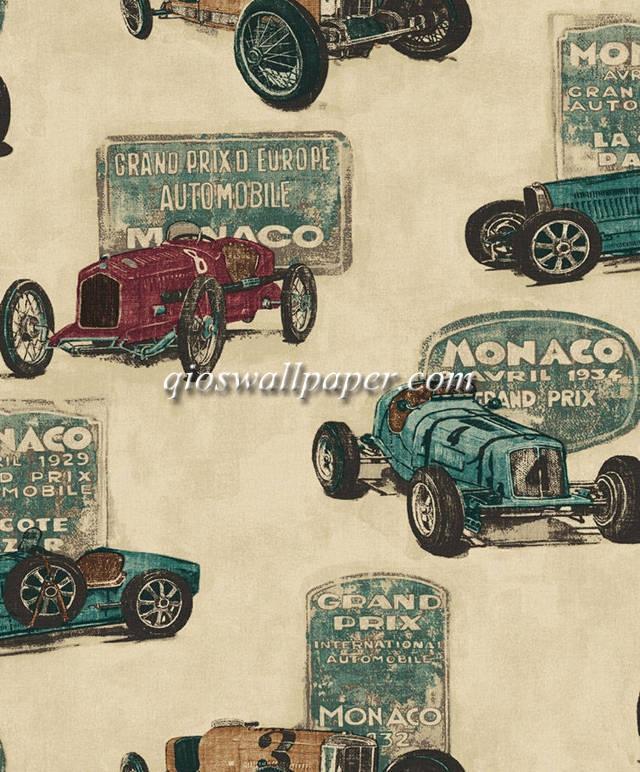 wallpaper kamar anak karakter anak mobil estetik