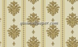 Wallpaper dinding salur klasik