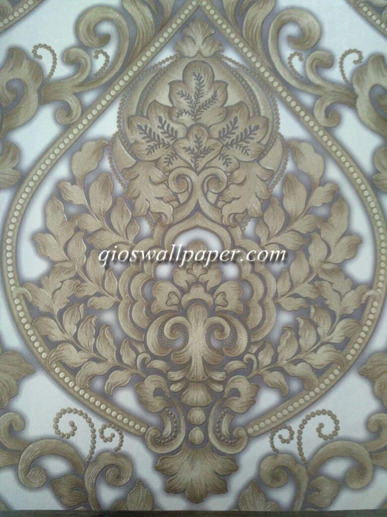 wallpaper ruang tamu batik terbaru