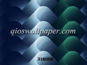 jual wallpaper ruang tamu 3d biru gradasi