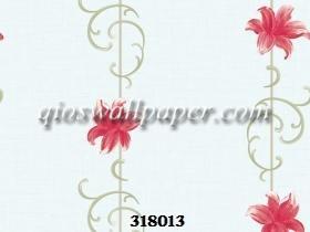 wallpaper ruang tamu minimalis bunga