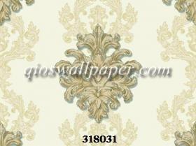 Wallpaper dinding kamar tidur klasik