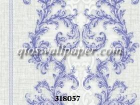 Wallpaper dinding klasik warna abu abu