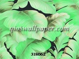 wallpaper ruang tamu minimalis daun daun