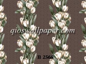 wallpaper kamar tidur bunga