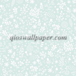 wallpaper dinding minimalis biru