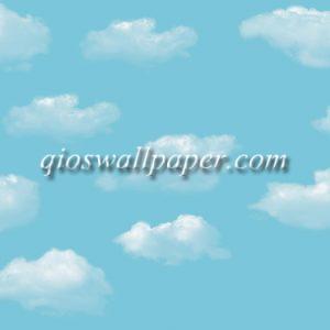 wallpaper dinding awan