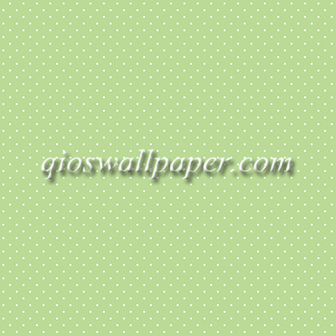 Wallpaper dinding polkadot warna hijau