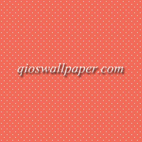 Wallpaper dinding polkadot warna merah