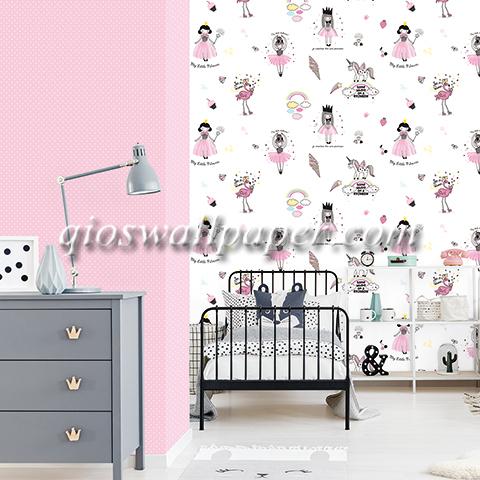 wallpaper dinding ruangan anak perempuan