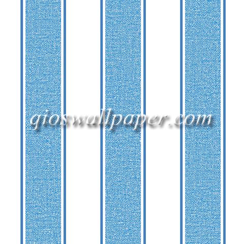 wallpaper dinding garis minimalis biru