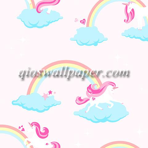 wallpaper kamar anak terbaru kuda pony