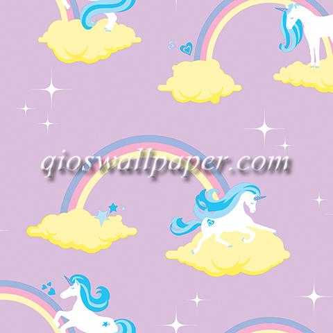 wallpaper kamar anak perempuan kuda pony