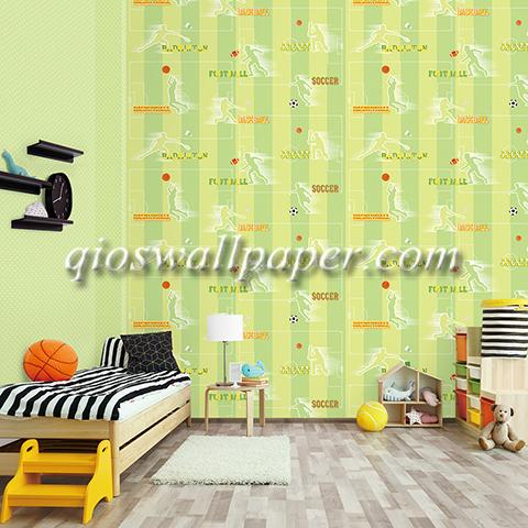 wallpaper ruangan anak cowo sport