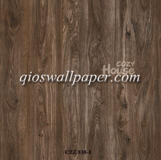 toko jual wallpaper dinding motif kayu jati