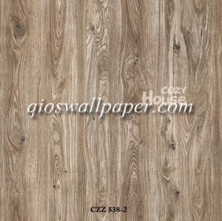 toko jual wallpaper dinding motif serat kayu jati