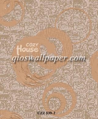 wallpaper dinding kamar minimalis warna krem