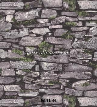 rumah dengan wallpaper,