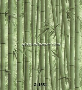 wallpaper dinding bambu,
