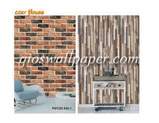 harga wallpaper dinding 3d batu bata