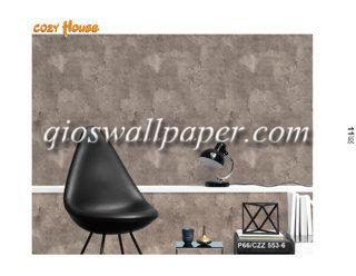 wallpaper dinding motif coklat 3d marmer