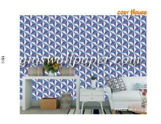 jual wallpaper dinding motif aesthetik unik 3d