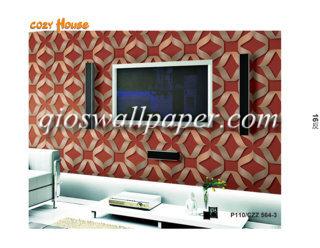 jual wallpaper dinding motif aesthetik merah